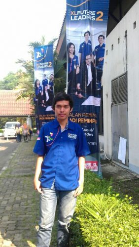 Banner XL Future Leader di roadshow UI