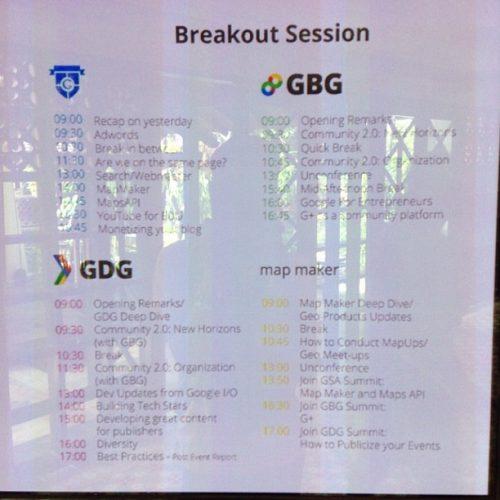 GSA GBG GDG di SEARCH Summit 2013