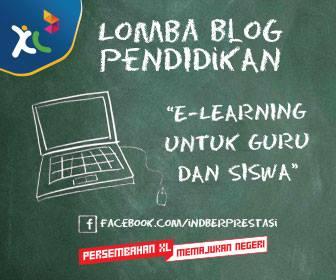 Banner Lomba Blog Pendidikan XL