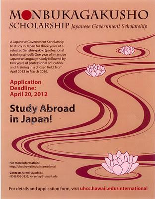 studi ke jepang dengan beasiswa monbukagakusho