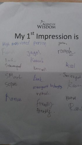 Ahmad Arib First Impression