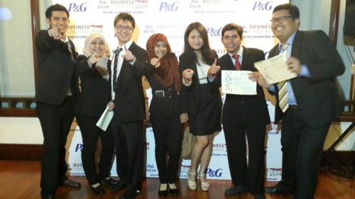 Team Lomba P&G Asean Business Challenge