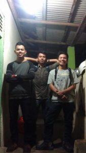 Wisata Bengkulu, dari kiri ke kanan, Dimas, Humam & Jule'