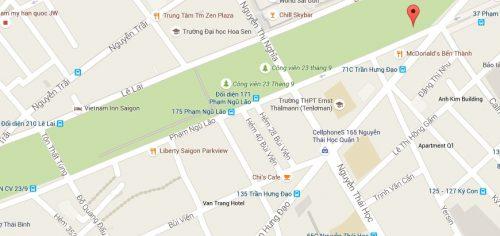 pham ngu lao street area