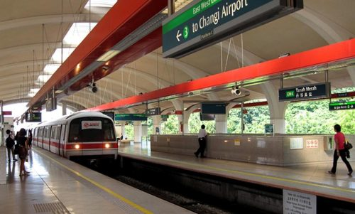 stasiun MRT singapura