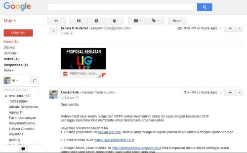 Autoreply email, jeda waktu balas yang singkat